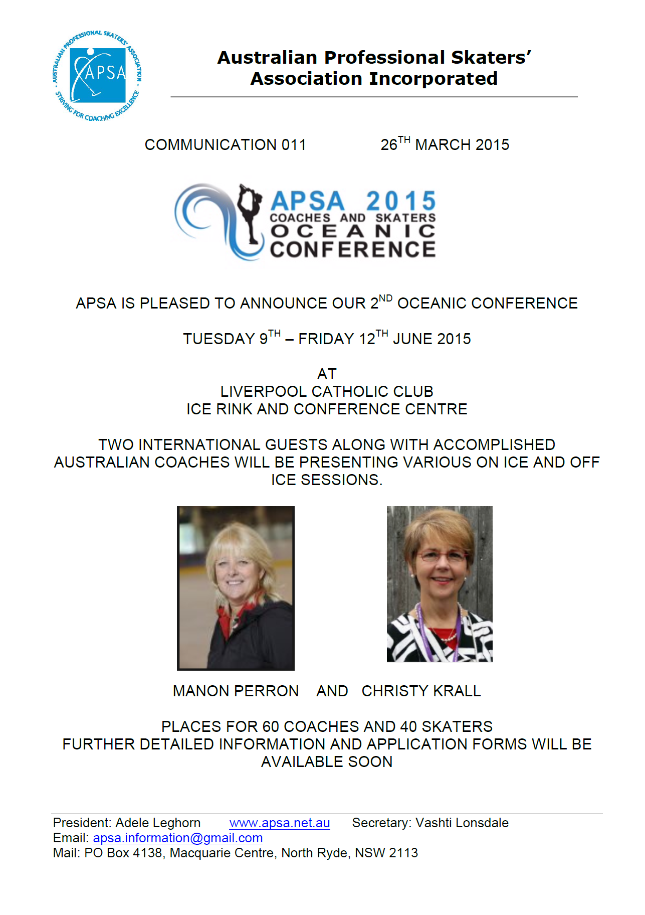 APSA Conference